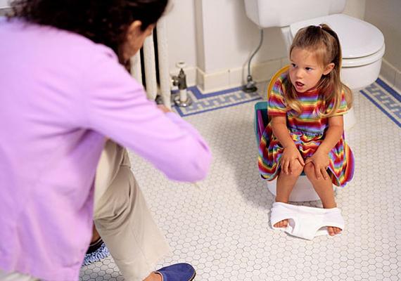 SzékrekedésHa nehezen mennek a dolgok a fürdőszobában, akkor itass a kicsivel több vizet, hiszen a folyadék jótékony hatással van az anyagcserére.