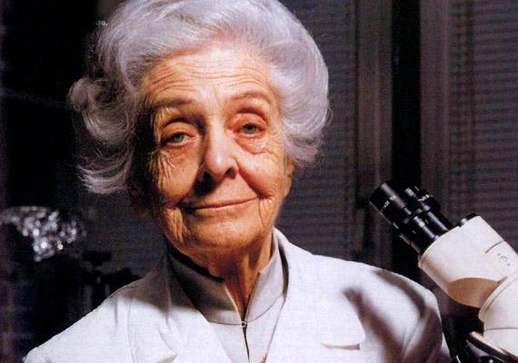 Rita Levi-Montalcini (1909-) olasz neurológus a legidősebb ma élő Nobel-díjas tudós. Az elismerést Stanley Cohen kollégájával megosztva kapta 1986-ban a növekedési faktorok felfedezéséért. Hosszú életének titka vélhetően a genetikának is köszönhető, hiszen Paola nevű ikertestvére is 91 éves koráig élt.