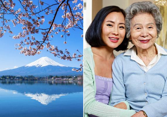 A japán nők a születéskor várható élettartam tekintetében már több mint 25 éve birtokolják a dobogó első helyét. A tavalyi statisztikák szerint 87,99 évre számíthatnak a szigetországi nők. Hogy mi a titkuk, azzal korábbi cikkünkben részletesen foglalkoztunk.