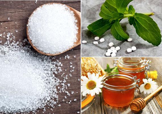 Mire lehet lecserélni a roppant káros, savasító cukrot? Rengeteg lehetőséged van. Ha nincs problémád a mellékízekkel, jó alternatíva lehet a sztívia, ha inkább cukorhoz hasonló ízre vágysz, válaszd az eritritet és a nyírfacukrot, fogyni is fogsz, ha áttérsz. Mézet is használhatsz, rengeteg hasznos tápanyag van benne, de figyelj oda, hogyan alkalmazod.