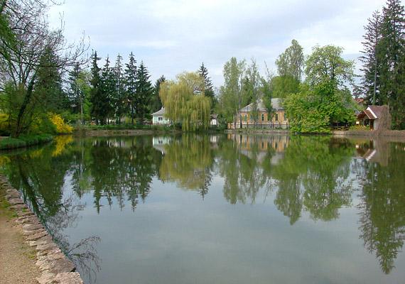 A Bakony fővárosának hívott Zircen a 20 hektáros arborétum is segít a levegő tisztításában.