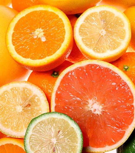C-vitamin  A tavaszi fáradtság hátterében elsősorban a vitaminhiány áll. Az immunerősítő, sejtvédő C-vitaminnal felturbózhatod szervezetedet és gyorsan megszabadulhatsz a kimerültségtől. Tabletták helyett szavazz a gyümölcsökre, zöldségekre!  Kapcsolódó kvíz: Miben van több C-vitamin? »