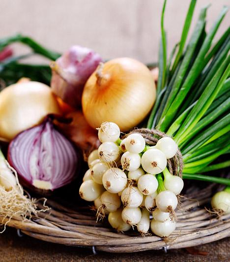 Hagymafélék  A vörös-, a lila-, illetve a fokhagyma fogyasztása egyaránt ajánlott a hidegebb hónapokban. A vöröshagyma baktériumölő vegyületeinek köszöhetően kiváló természetes köhögéscsillapító, a fokhagyma pedig a vírusok és gombák elleni védekezésben is segít.  Kapcsolódó cikk: Így készítsd a hagymateát köhögés és influenza ellen! »