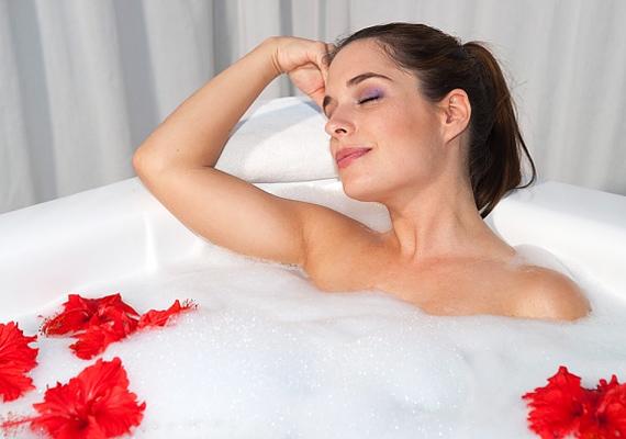 Gyulladás ellen a forró fürdő a legjobb orvosság.