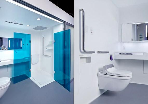 A fürdőszobák kialakítása jobban alkalmazkodik a kórházi körülményekhez: így például a zuhanyzóban tolóajtókat helyeznek el, és több kapaszkodó is lesz.