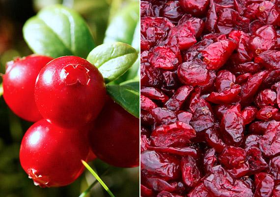 A vörös áfonya gazdag antioxidáns-forrás, illetve bővelkedik ásványi anyagokban, valamint E- és C-vitaminban. Immunerősítő hatását kihasználhatod gyümölcsként, de kapható ital, illetve kapszula formájában is. Baktériumölő hatásának köszönhetően a felfázás egyik legbiztosabb természetes ellenszerét is tisztelheted benne.