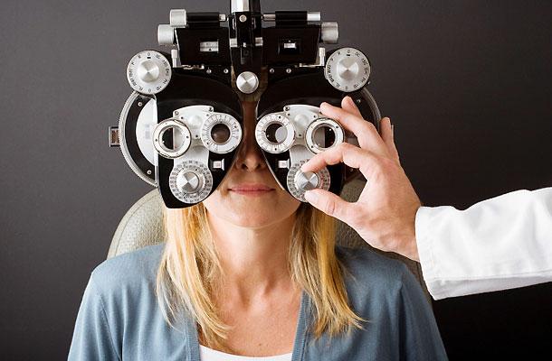 edzés a szem javításához