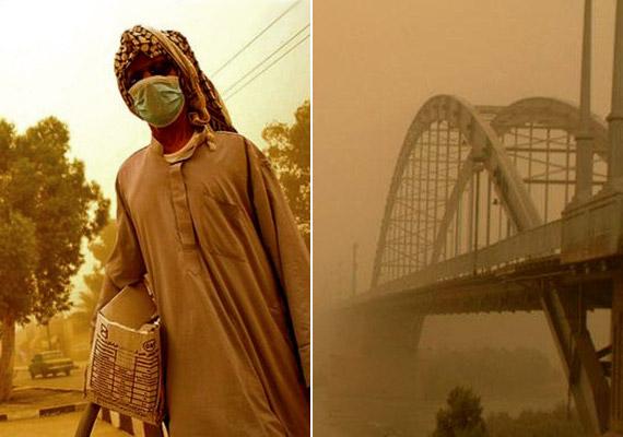 Az iráni Khuzestan tartomány központjának, Ahwaz városának éves PM10-átlaga 372-re rúg - vagyis több mint ötszöröse a világátlagnak számító 71-nek. Ezzel elnyerte a Föld legszennyezettebb városának járó címet.