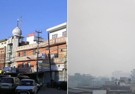 Ludhiana az indiai Punjab állam legnagyobb városa, egyben Észak-India jelentős ipari központja. Éves PM10-átlaga 251.