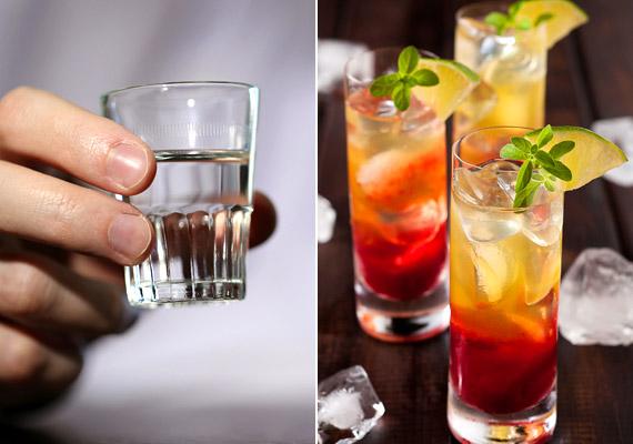 A gabonából erjesztett vodka semleges ízvilága miatt kedvelt koktélalapanyag. Éppen ezért ha buliba mész, fontos, hogy megkérdezd a mixert, miből is áll a fogyasztani kívánt italod. Vodkát tartalmaz többek között a Martini, a Bloody Mary, a Cosmopolitan és a Kamikaze. Meg kell azonban jegyezni, hogy a vodka készülhet krumpliból is: ebben az esetben nincs miért aggódnod.