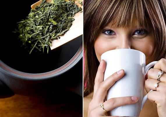 Bár az erős fekete tea fogaid fehérségének nem tesz éppen jót, a zöld teában lévő falvonoidok megakadályozzák, hogy a káros baktériumok a fogakra tapadva szuvasodáshoz vezessenek. Tudj meg többet a zöld tea egészségvédő hatásáról!