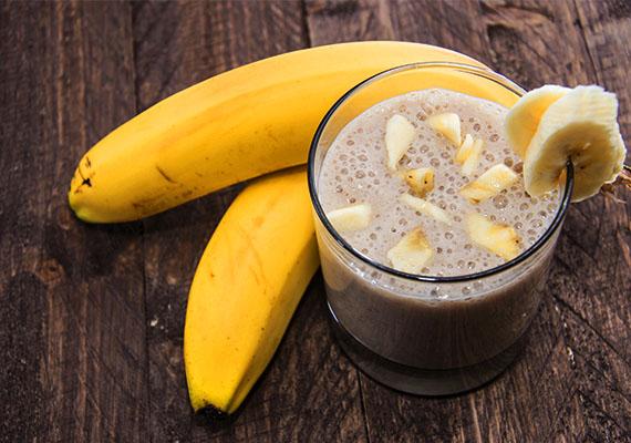 Gyömbéres banánturmix                         Reggel nagyszerű energiaforrás lehet a banán, a gyömbér pedig zsírégető hatása miatt lehet barátod a fogyókúrában.                         Hozzávalók: egy banán, 2 dl tej, pár csepp citromlé, fél kávéskanál reszelt gyömbér.