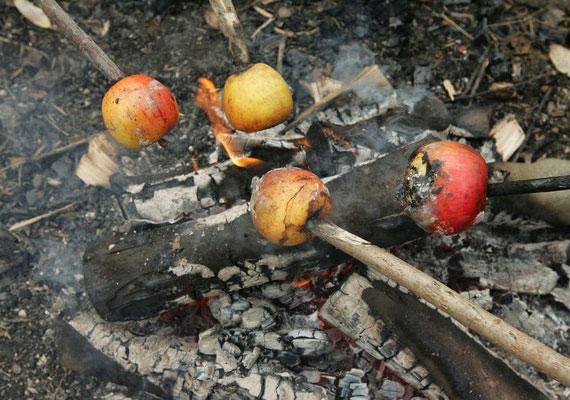 Ha még almát is hajítasz a tűzbe, egészséges maradsz az évben.
