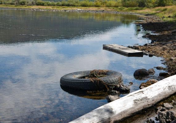 A koszos víz arról árulkodik, hogy veszélybe sodorhat, ha nem végzel érzelmi nagytakarítást.