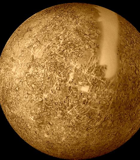 MerkúrA Merkúr, az Ikrek és a Szűz uralkodó bolygója alig nagyobb, mint a Holdunk, és a Naphoz legközelebb eső bolygó. Keringési ideje 88 nap, felszíni hőmérséklete −183 és 427 °C között változik. Nevét a kereskedelem és kommunikáció istenéről kapta.Kapcsolódó cikk:Milyen hatással vannak rád a bolygók? »