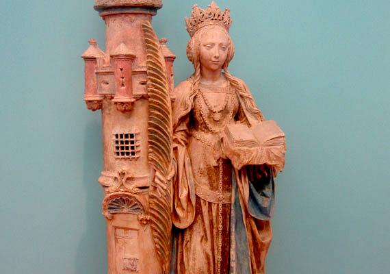 A középkori városok puskaporos tornyát gyakran nevezték el Szent Borbáláról, hogy megvédje a robbanások ellen.