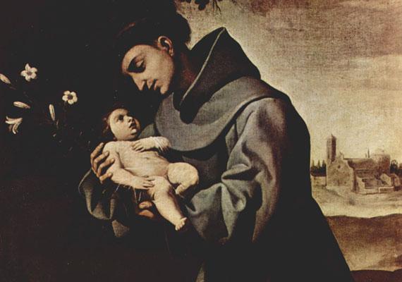 Páduai Szent Antal 1195-ben született Lisszabonban, és 1231-ben halt meg Padova mellett. Ferences rendi szerzetes volt, akinek életét a legendák szerint csodák kísérték, például életre keltett egy halott kisfiút.