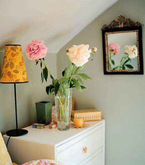 Díszítés  Érdemes odafigyelned arra, milyen tárgyakat és díszítményeket helyezel el itt. Élő virágot érdemes tenned a hálóba, szárazvirágot inkább ne tárolj itt, mert megakaszthatja az energiaáramlást. Ha lehet, tükör se legyen a szobában, ha mégis van, ne láss rá az ágyból, vagy takard le éjszakára.