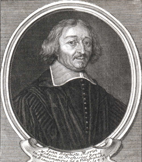 Jean-Baptiste Morin  Jean-Baptiste Morin francia asztrológus, csillagász, matematikus, geológus és orvos volt. Tudományos céllal járt Besztercebányán és Körmöcbányán is.  Kapcsolódó cikk: UFO-k tartották rettegésben a várost »
