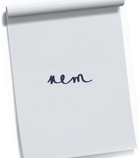 M-betű  Az m-betű három szára az én-te-ő viszonyt jelképezi. Ha a képen látható módon a harmadik szár hangsúlyosabb, lelkiismeretességről és átlag feletti munkavégzésedről tanúskodik.  Kapcsolódó cikk: Milyen az írásod? - Olyan vagy a szexben! »