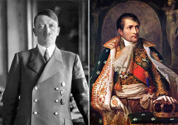 """Nostradamus jövendöléseiben számos, a történelemben jelentős szerepet játszó alak uralkodását, fejedelmi vagy zsarnoki hatalmát is előrevetítette, így például Hitlerét. Jóslata így szól: """"Éhségtől dühödt vadállatok fognak átúszni a folyókon, a csatatér nagyobb része Hisler ellen lesz, vasketrecben vonszolják a nagy embert, míg Németország gyermeke semmit sem tart tiszteletben."""""""