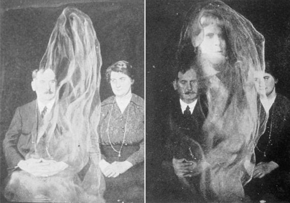 A lepelbe bújt alakok után jött divatba az aurafotózás vagy a különös ködfelhők fotózása. Ilyen képeket elsőként Louis Darget francia fotós készített. A technológia a röntgenfelvétel feltalálása után született, nem véletlenül, ugyanis a két képkészítési mód rokon egymással.