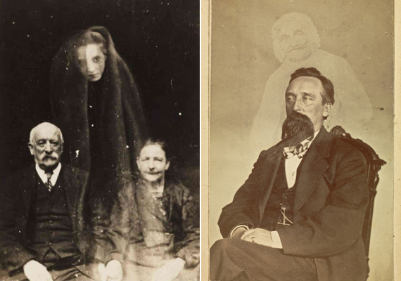 A Viktória-korabeli emberek erősen érdeklődtek a spiritualizmus iránt. Érdekelte őket a lélek sorsa a halál után, így nem volt nehéz dolga a trükköket ismerő fotósoknak: kihasználták azok hiszékenységét, akik elvesztett rokonaikat szerették volna viszontlátni. Élő asszisztensek, bábuk, esetleg a kuncsaft elvesztett rokonának régi portréjával hamis szellemfotókat állítottak elő a gyanútlan gyászolók számára, azt állítva, hogy a felvételeken halott szeretteik láthatóak.