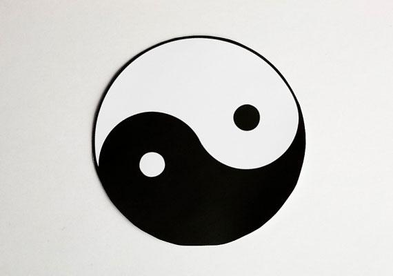 A jin és jang a természet több síkján jelen lévő férfi és női minőségek együttműködését ábrázolja.