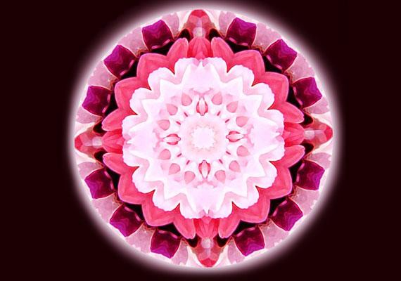 A rózsaszín a szeretet színe, és a lelki gyógyulásban segít.