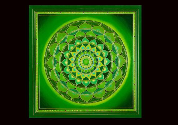 A zöld színnel a szívcsakrádat erősíted, valamint a mások iránti bizalmat.