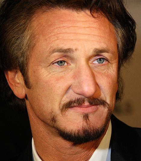 Sean Penn                         A színész heves vérmérséklete mindig is hírhedt volt. Volt feleségét, Madonnát többször bántalmazta, illetve egy ízben le is tartóztatták, mert megvert egy lesifotóst. Tehetségéhez azonban nem fér kétség. 1960. augusztus 17-én született Santa Monicaban.