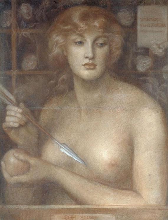PéntekHa pénteken születtél, Aphroditétől kaptad legfőbb nőies tulajdonságod ajándékba, mégpedig szenvedélyességed és a szerelemben mélyen szerető szíved.Fotón: Dante Gabriel Rossetti - Venus Verticodia, 1867-1868