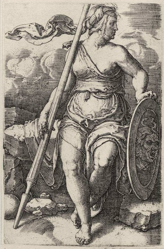KeddHa kedden születtél, a tudományok és mesterségek istennőjétől, Athénétől kaptad eszességed, talpraesettséged, női fifikád.Fotón: Lucas van Leyden - Pallas Athena, 1570