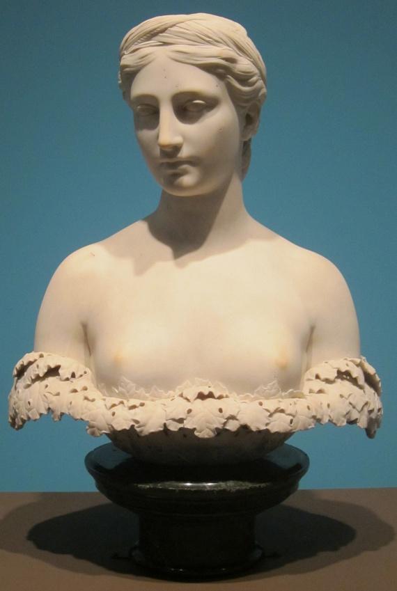 Szerda                         Ha szerdán születtél, Perszephonétól, az alvilág úrnőjétől, Zeusz és Démétér gyermekétől kaptad ajándékba, hogy erős és magabiztos nő vagy.                         Fotón: Hiram Powes - Persephone, 1844