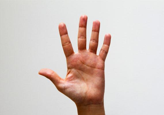 Ha mutató- és gyűrűsujjad egyenlő hosszúságú, nem vagy csapongó a párkapcsolatokban. Hűséges típus vagy, a hosszú kapcsolatok híve.