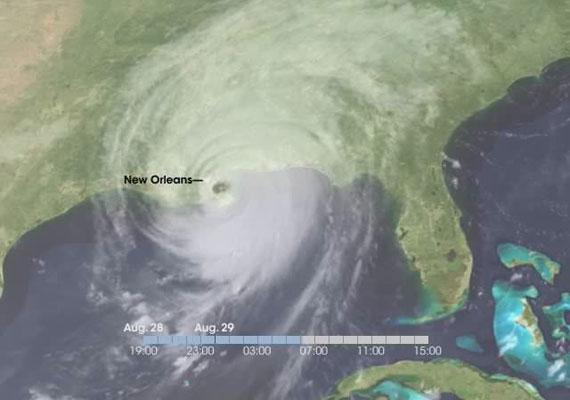 Az ausztrál jós, Jeffry R. Palmer a 2005-ben hatalmas pusztítást végző Katrina hurrikánt jósolta meg.