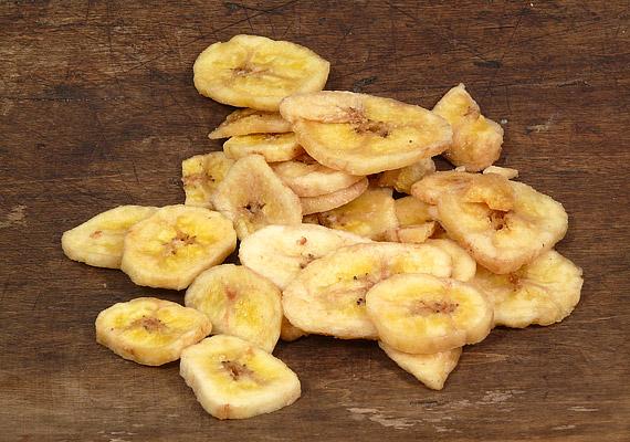 A gyümölcschipsek finomak és laktatók, ám alig tartalmaznak kalóriát.