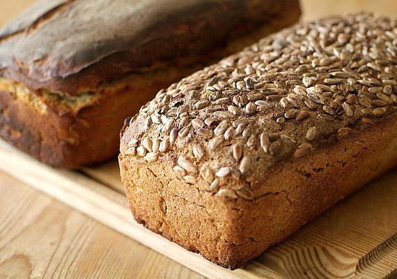 A teljes kiőrlésű, magvas kenyerek laktatóak, beindítják az anyagcserét, és az ízük is izgalmasabb, mint a fehér kenyérnek.