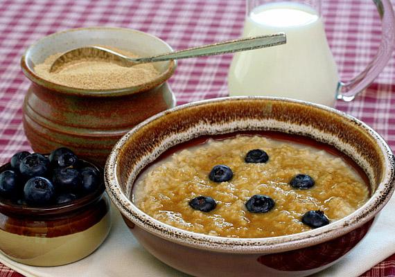 A zabkása sokféleképpen elkészíthető, laktató, emésztésserkentő reggeli.
