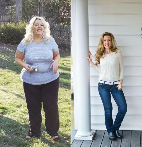 Hat évvel ezelőtt Rebecca Johnson szemét saját édesanyja intő példája nyitotta fel, aki nagy túlsúlya miatt kerekesszékbe kényszerült. Rebecca megijedt, hogy néhány éven belül ő is erre a sorsra jut, hiszen ekkor már nála is 113 kilót mutatott a mérleg.                         A fogyókúra során Rebecca a motiváció megtalálását érezte a legnehezebbnek, így minden öt kiló leadását követően egy új ruhadarabbal lepte meg magát, sőt, gyakran csak próbálni ment be az üzletekbe, hogy lássa, miként alakul át a teste, és hogyan mutatnak rajta egyre jobban a ruhák. Rebecca a Weight Watchers program kúrájára esküszik, ami mellé hetente legalább háromszor 30 percet gyalogol intenzíven.