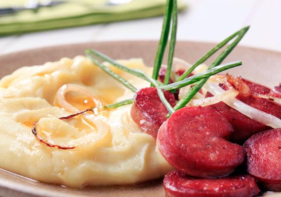 A krumplipüré sem tartozik a legegészségesebb köretek közé: magas a glikémiás indexe.