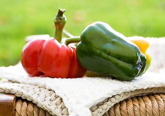 A paprikát nemcsak a rostjai, de a zsírlebontást segítő C-vitamin miatt is érdemes fogyasztanod, a diéta alatt is.