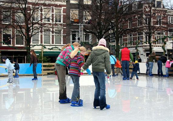 A korcsolyázás az egyik legmókásabb téli sport, óránként 670 kalóriát égethetsz el vele.