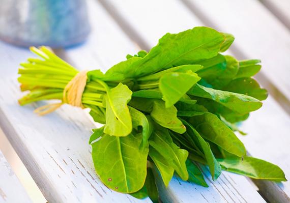 Sokat segít a gyomrod helyreállításában a spenót, a benne lévő a rostok és vitaminok miatt.