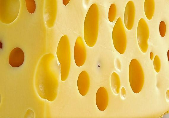 A sajt amellett, hogy remek kalciumforrás, cinkben is bővelkedik: 100 g edami sajt 11 mg-ot tartalmaz.