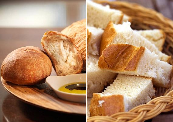 A fehér lisztből készült kenyér, zsömle és más pékáruk amellett, hogy vércukorszint-ingadozást okozak, körülbelül egy gramm rostot tartalmaznak, így lassítják az emésztést. Érdemesebb helyettük teljes kiőrlésű pékárukat fogyasztanod.