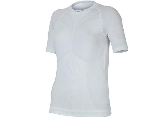 Az első ránézésre egyszerű fehér pólónak tűnő aláöltözet tavasztól őszig kiváló viselet sportoláshoz - akár önmagában, akár hőszigetelő felső réteggel együtt. Gyorsan elvezeti a nedvességet a bőrről, antibakteriális anyagból készült. A Lasting Alba női rövid ujjú aláöltözet most 7990 forintba kerül a Nomádban.