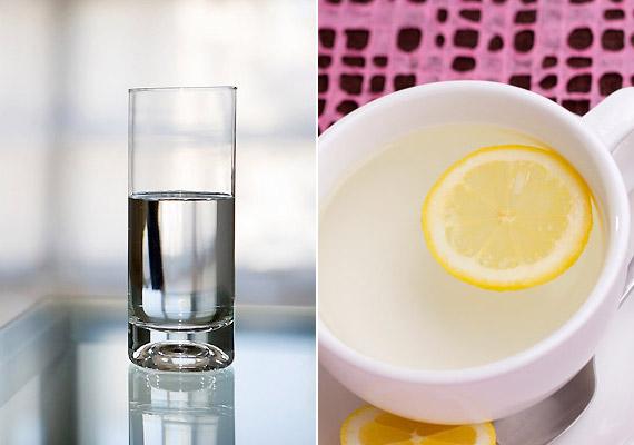 A folyadékbevitelt ajánlott rögtön ébredés után elkezdeni. Ha éhgyomorra megiszol egy pohár vizet - vagy egy csésze meleg citromos vizet -, az éjszaka során felgyülemlett méreganyagokat hamarabb ki tudja választani a szervezet, és az anyagcsere is beindul. Tudj meg többet az éhgyomorra fogyasztott víz hatásáról!