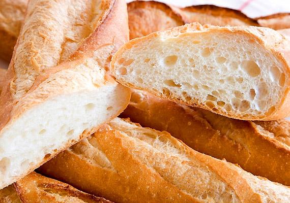A fehér lisztből készült pékáruk rosttartalma alacsonyabb, mint a teljes kiőrlésűeké, így fogyasztásuk során a táplálék egy része megtapad a belek falán.