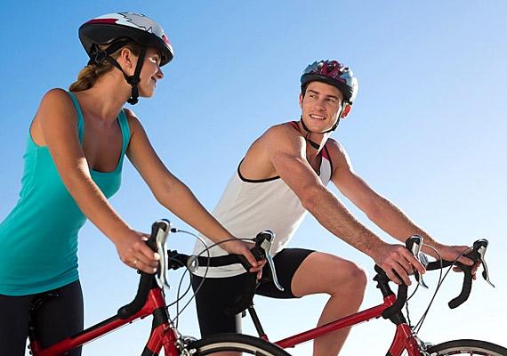 A bicikliben az a jó, hogy nem csupán sport, hanem közlekedési eszköz is. Ha tehát nincs időd mozogni, járj bicajjal munkába, és máris összekötötted a kellemeset a hasznossal.